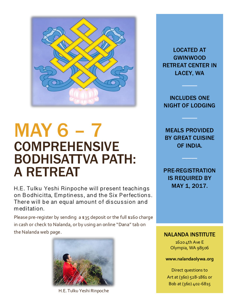 Retreat Flyer 2017